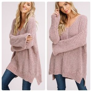Sweaters - 🆕 DREAM Soft Oversized Chenille Tunic Sweater